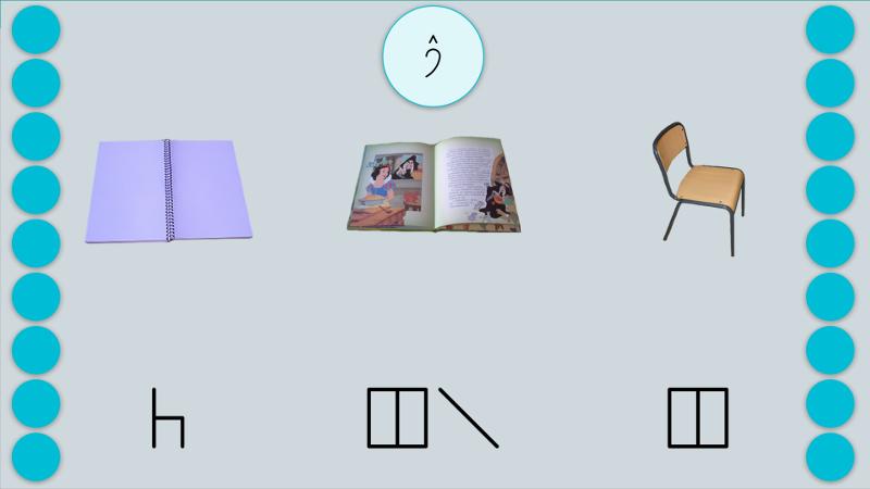 Learning Bliss symbols (English)