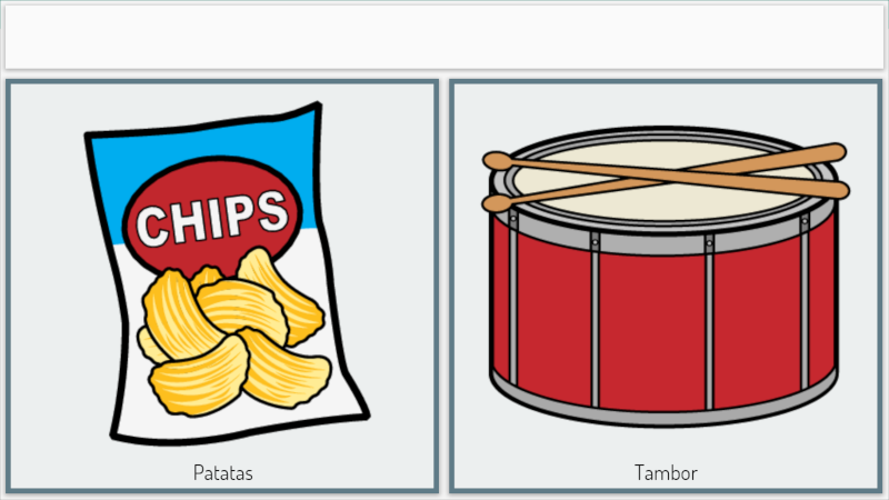 Chips and drum