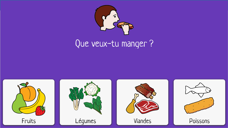 What do you want to eat? (French)