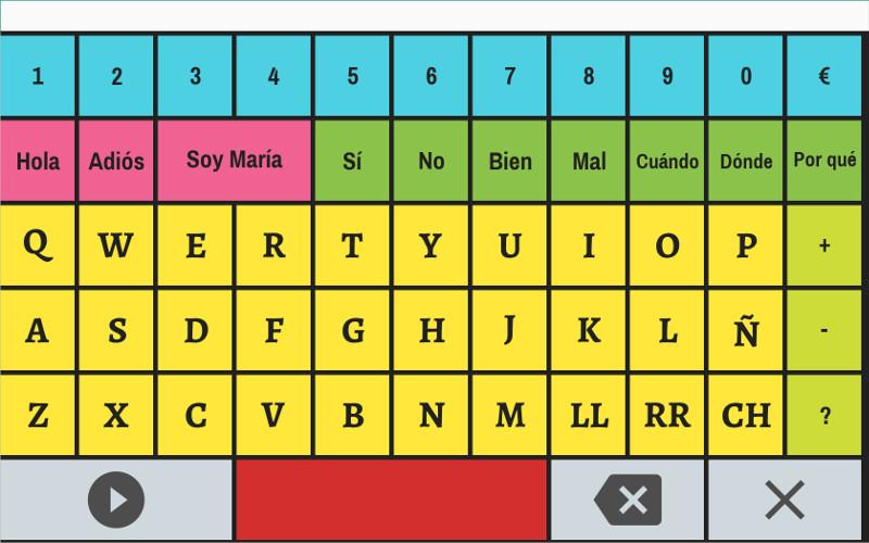 Message syllabic board