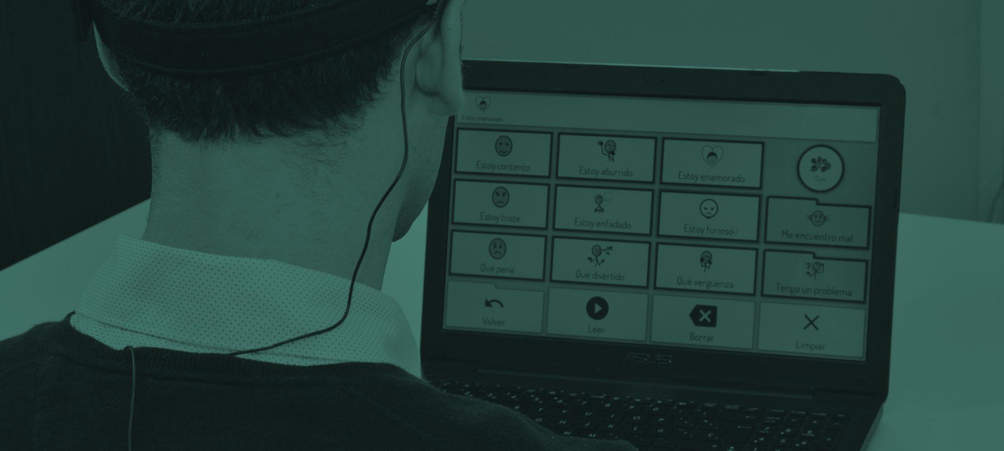 Verbo. El software que facilita la comunicación a personas con dificultades en la expresión o el lenguaje.
